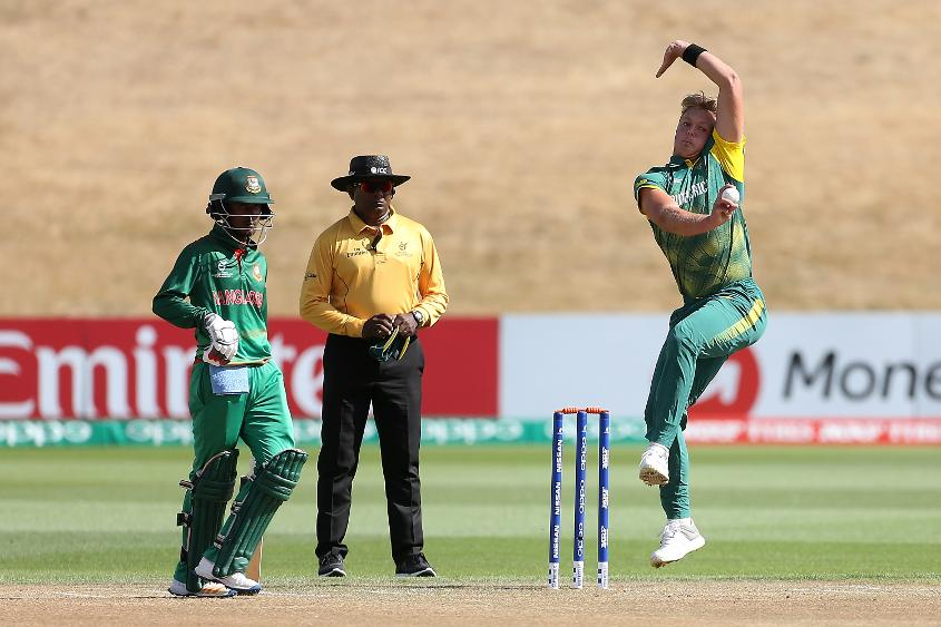South Africa bowler Fraser Jones