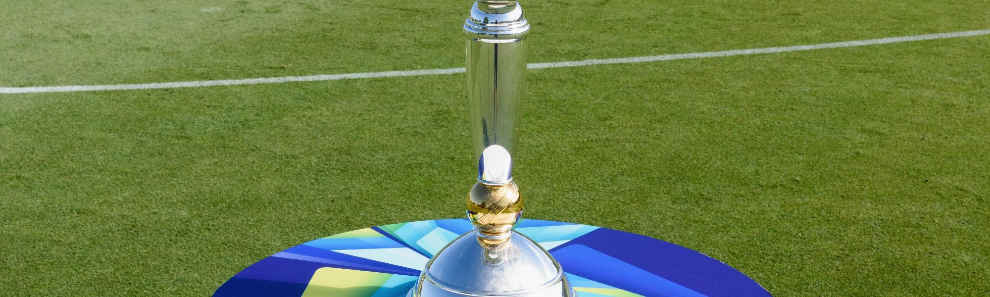 U19 Cricket World Cup trophy