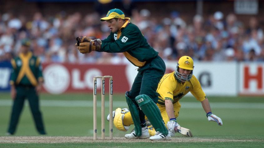 Boucher claimed 11 dismissals in his debut tournament in 1999