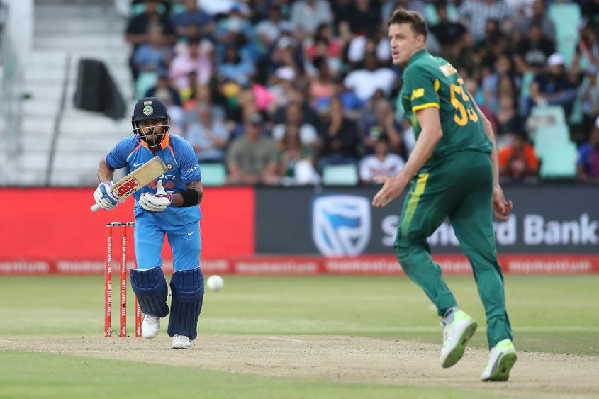 The chase never looked in doubt with Kohli at the crease