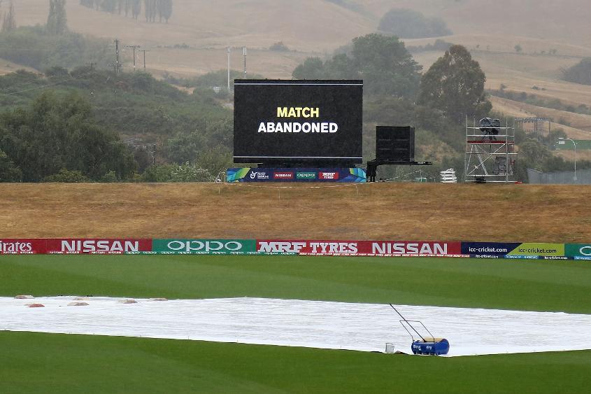Match abandoned Pakistan v Afghanistan