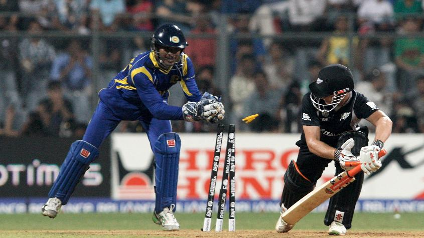 Sangakkara has a record 13 stumpings at the Cricket World Cup
