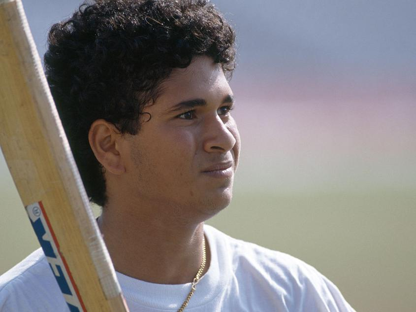 Sachin Tendulkar made a mark from an early age