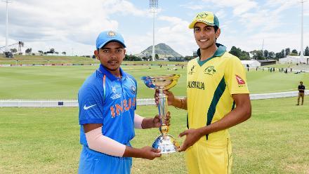 ICC U19 CWC 2018 - Final Practice Session - India v Australia