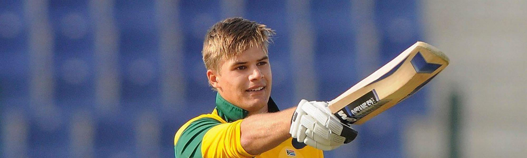 Aiden Markram scored 370 runs at the 2014 ICC U19 World Cup
