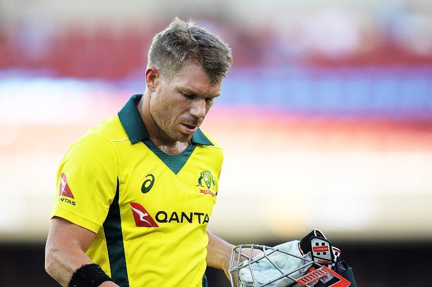 David Warner struggled in the recent ODI series against England