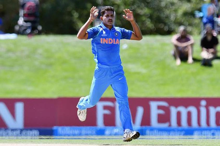 Shivam Mavi is the second-highest wicket taker for India in the tournament with 8 wickets from 5 matches