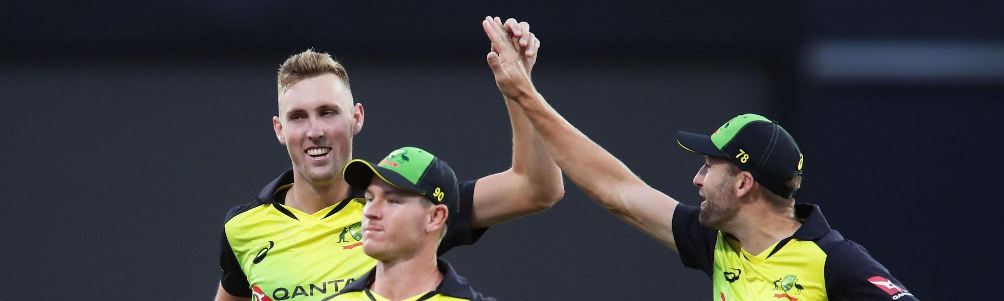 Billy Stanlake made early inroads for Australia, finishing with 3/15