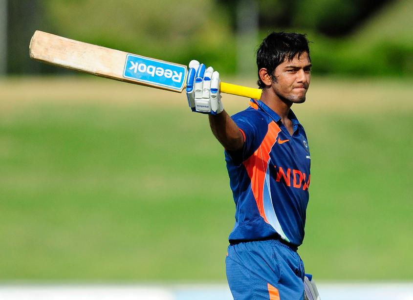 Unmukt Chand holds the record for the highest score in an U19 CWC final