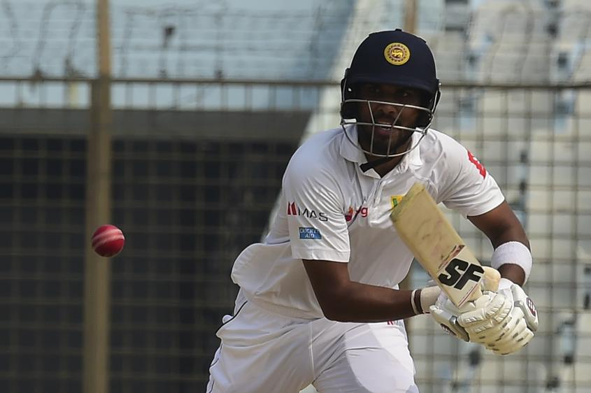 Chandimal fell 13 short of becoming the fourth centurion of Sri Lanka's innings