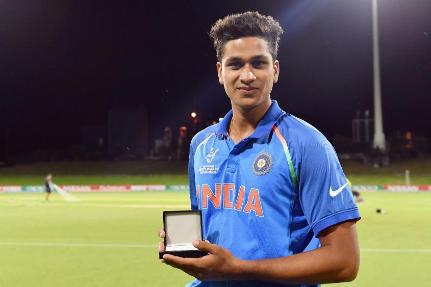 Manjot Kalra won the Player of the Match award for his 101*