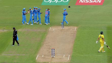 India Take a Wicket