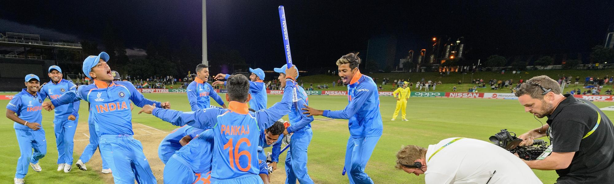 India seal World Cup win