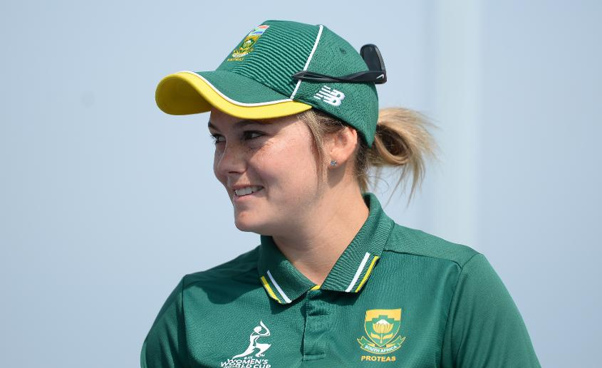 South Africa captain Dane van Niekerk led her side to the semi-finals of the 2017 Women's World Cup