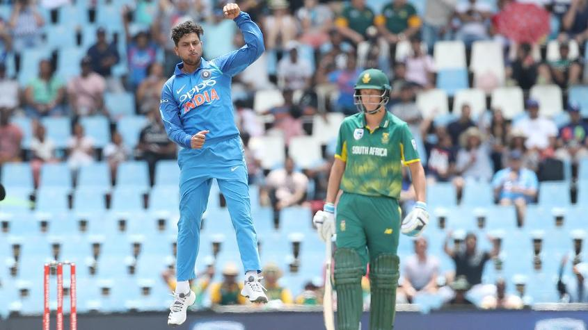 Kuldeep Yadav took an ODI-best three wickets