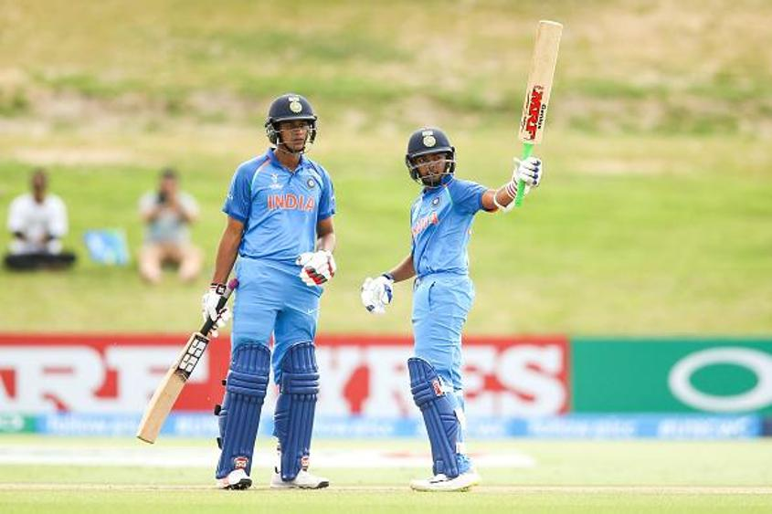 Both Manjot Kalra (left) and Prithvi Shaw (right) are a part of the team