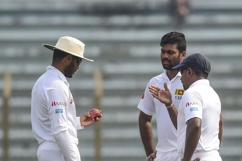 Sri Lanka searched for wickets, but couldn't force a win in Chittagong
