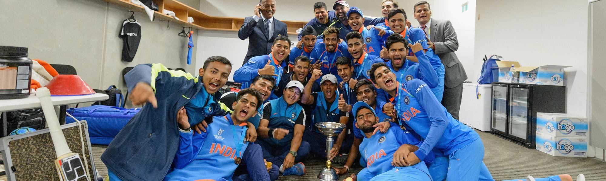 India U19 World Cup champions