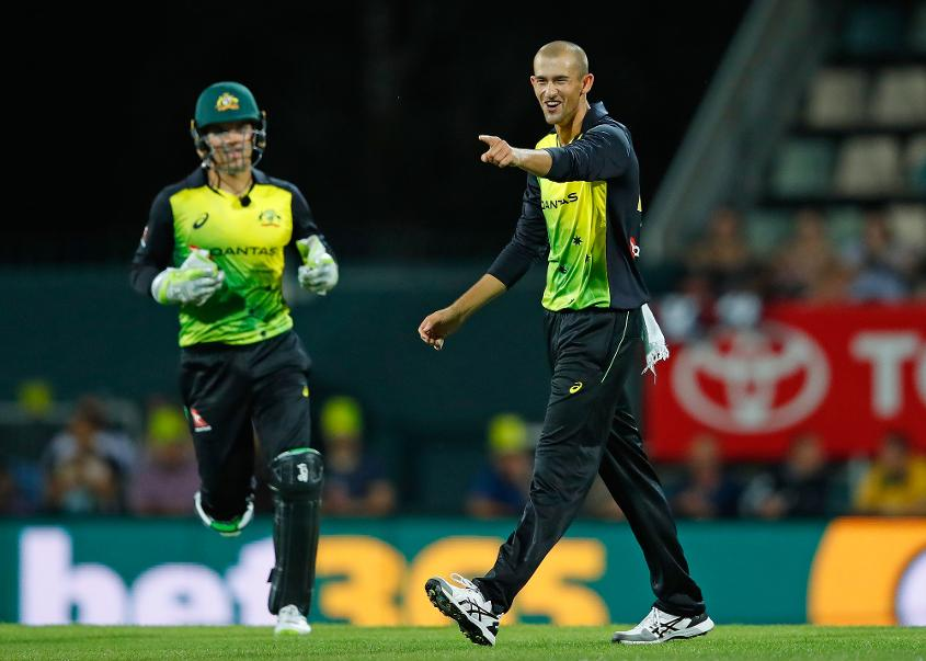 Ashton Agar finished with figures of 2 for 15 in his three overs