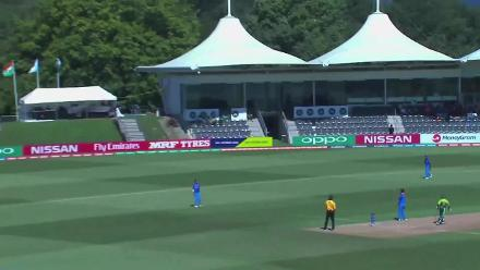 U19CWC Nissan Play of the Tournament - Shubman Gill takes a good catch running back