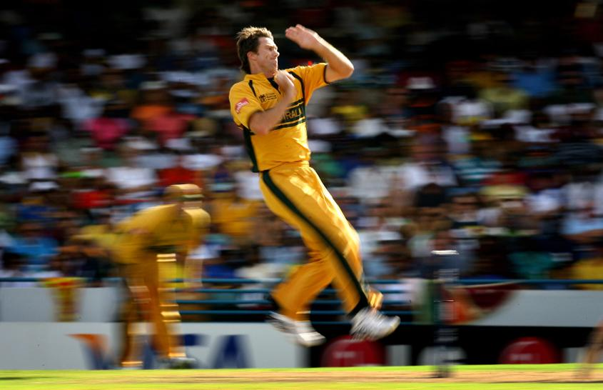 His 26 wickets at the 2007 World Cup is a record for wickets taken at a single edition