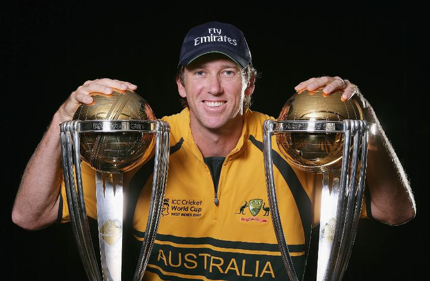 McGrath added a third title to his collection in 2007