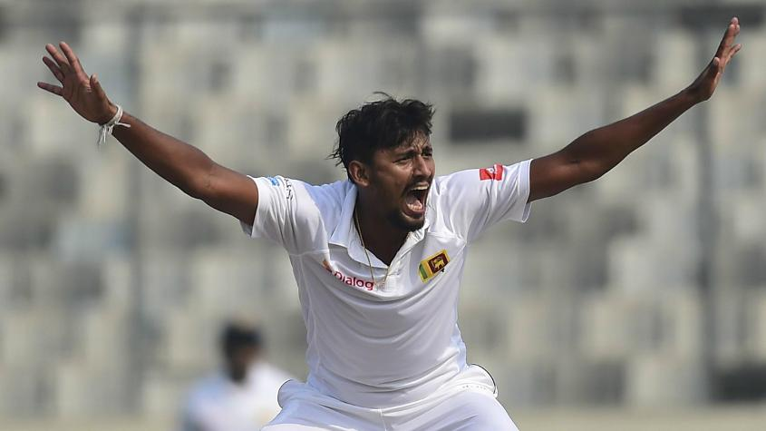 Suranga Lakmal bowled exceedingly well to pick up three wickets.