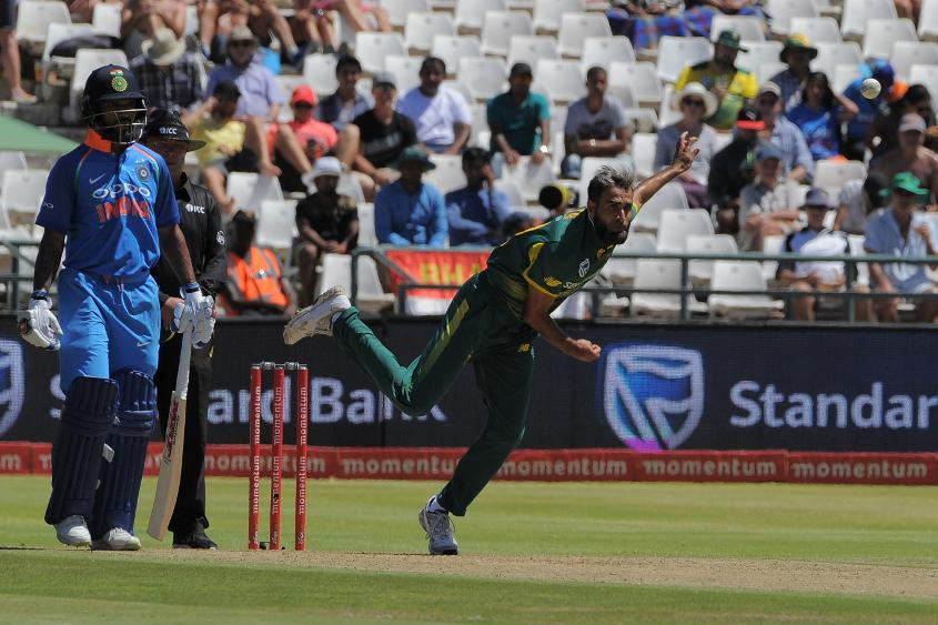 India have countered Imran Tahir's threat so far in the series