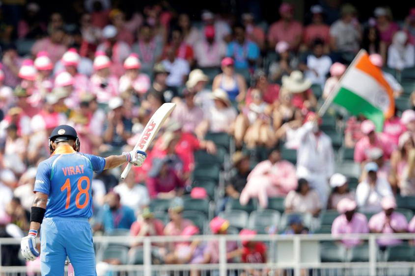 Virat Kohli made another half-century, but today it wasn't enough