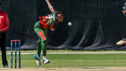 Elsewhere on day one Kenya took on UAE at the Wanderers Cricket Ground