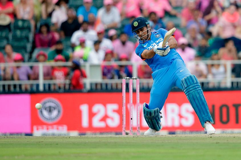 MS Dhoni held India's innings together