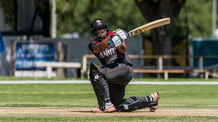 UAE amassed 309/8 after being put into bat by Kenya