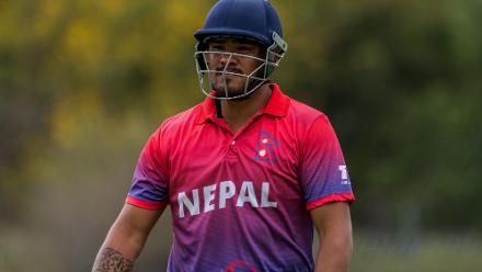 Nepal claimed a one-wicket win in a last-over thriller