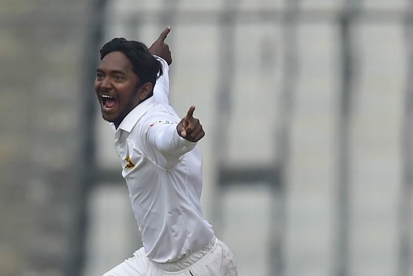 In the MRF Tyres ICC Player Rankings for Test Bowlers, Akila Dananjaya has entered in 58th position.