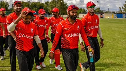 Led by Navneet Dhaliwal (3/15) and Saad Zafar (3/30), Canada recorded their third win of the tournament in as many games to consolidate their position at the top of the table