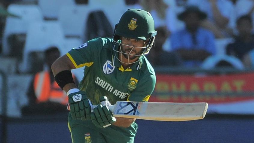 JP Duminy will lead the side in Faf du Plessis's absence