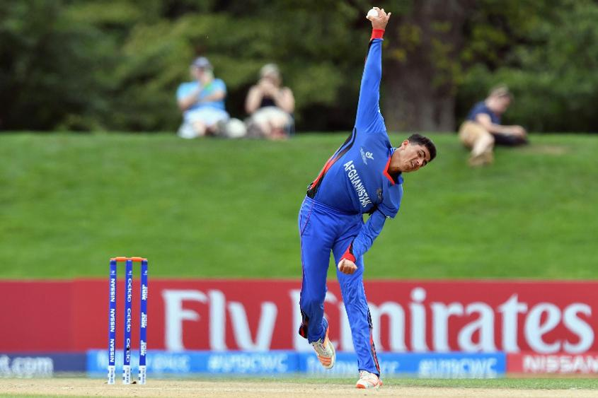 Mujeeb Zadran, the 17-year-old off-spinner, has been included in Afghanistan's squad