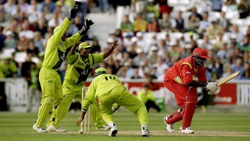 Saqlain took his hat-trick in England in '99