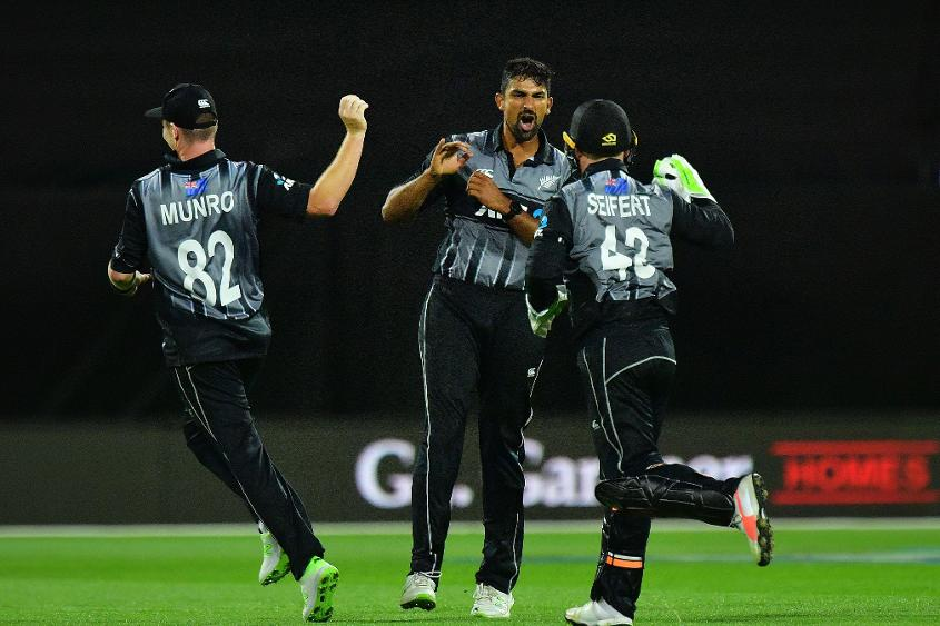 The New Zealand bowlers were excellent in the death to deny England