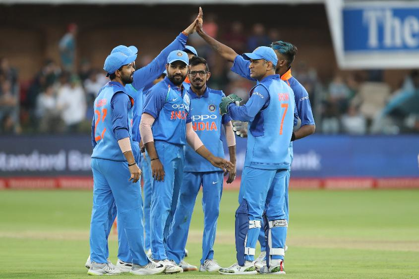 India had entered the six-match series in second position on 119 points