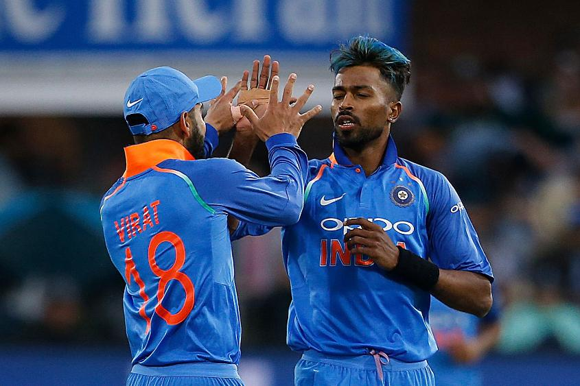 Hardik Pandya dismissed JP Duminy and AB de Villiers in consecutive overs