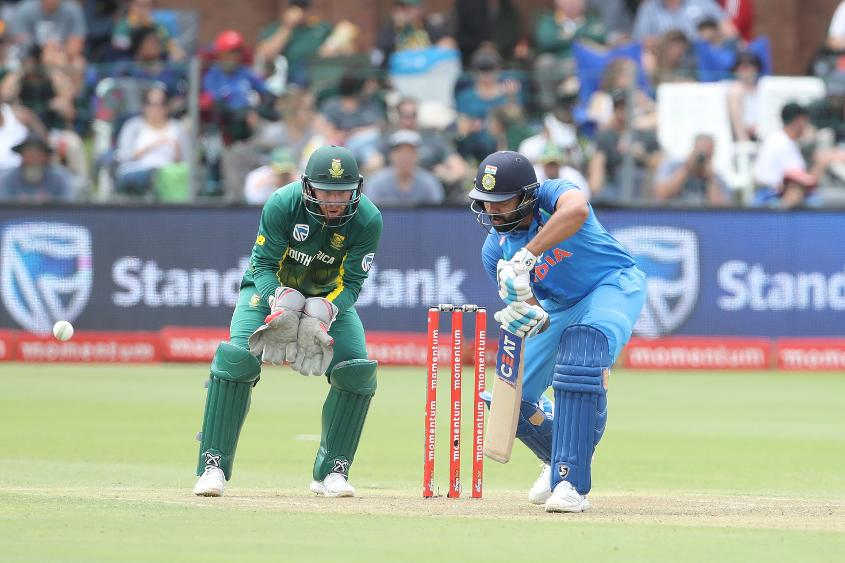 Rohit Sharma played a typically classy knock