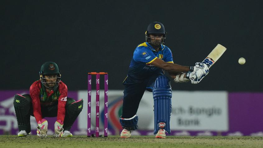 Dasun Shanaka iced the match for Sri Lanka with an unbeaten 42
