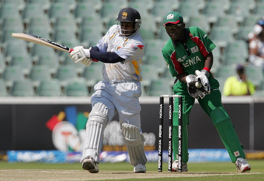 Sanath Jayasuriya led the way in Sri Lanka's fantastic batting effort against Kenya