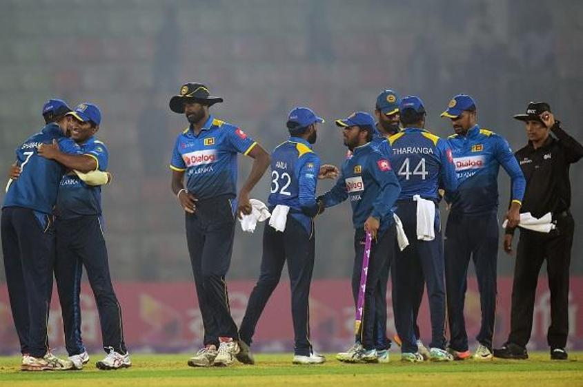 Sri Lanka won the two-match T20I series in Bangladesh 2-0