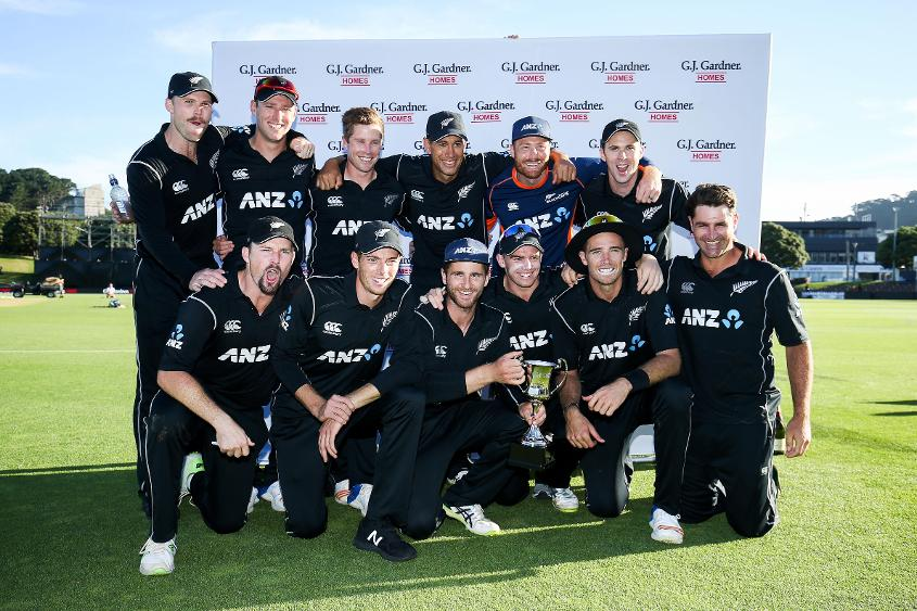 New Zealand have retained most of the squad that swept Pakistan