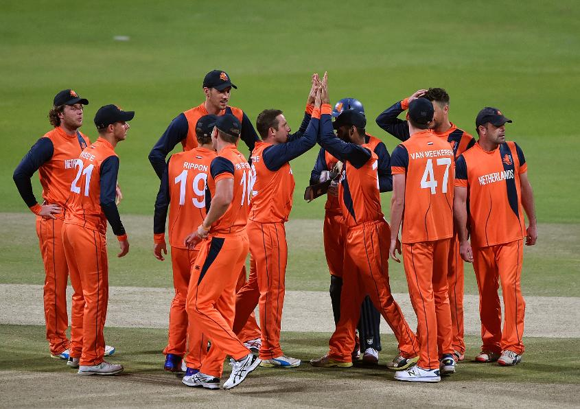 Roelof van der Merwe's canny left-arm spin is a weapon for the Dutch