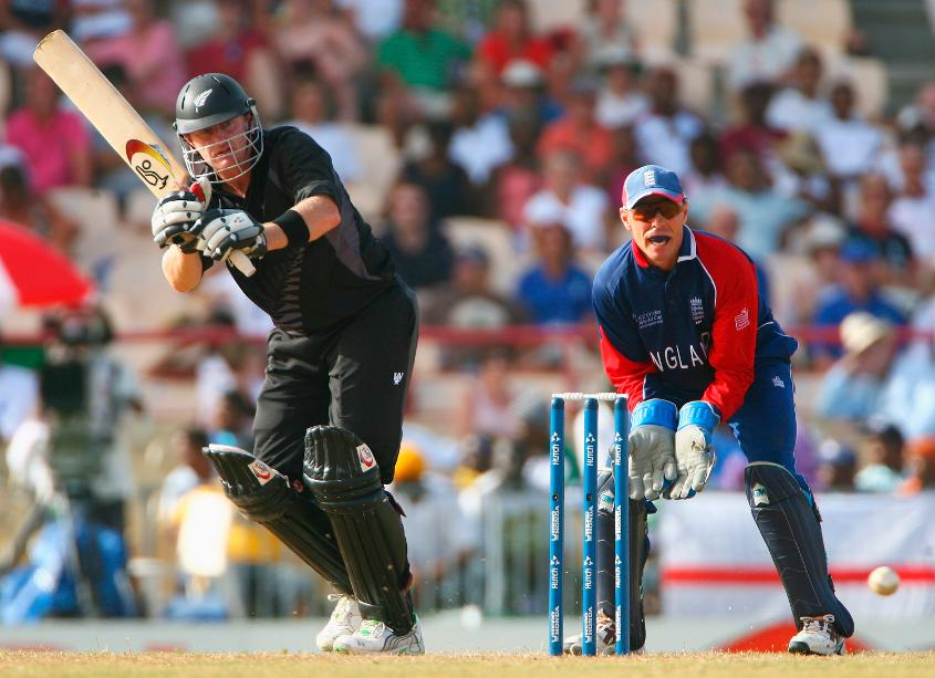 Scott Syris's 87 not out helped steer New Zealand to victory with nine overs remaining