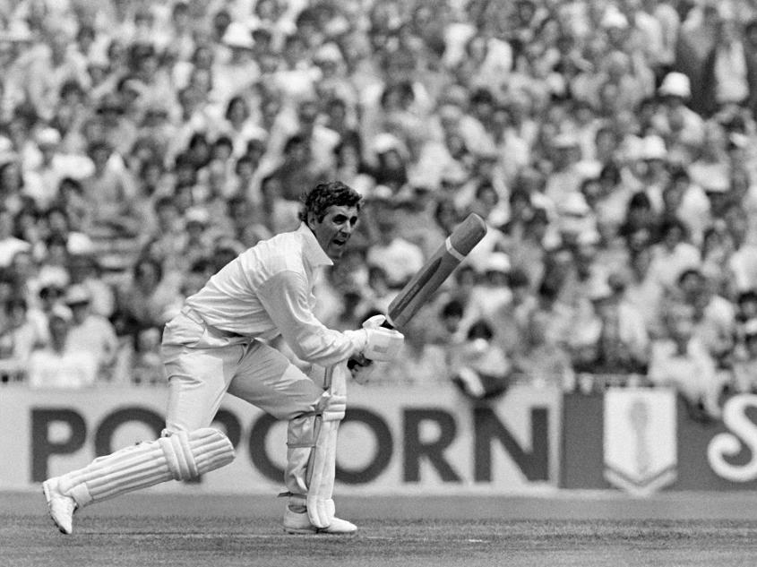 Mike Brearley, the England opener, scored 53 in 115 balls with four boundaries