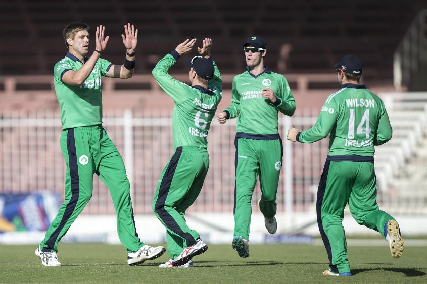 Boyd Rankin's wickets helped Ireland beat Afghanistan 2-1 in an ODI series in December